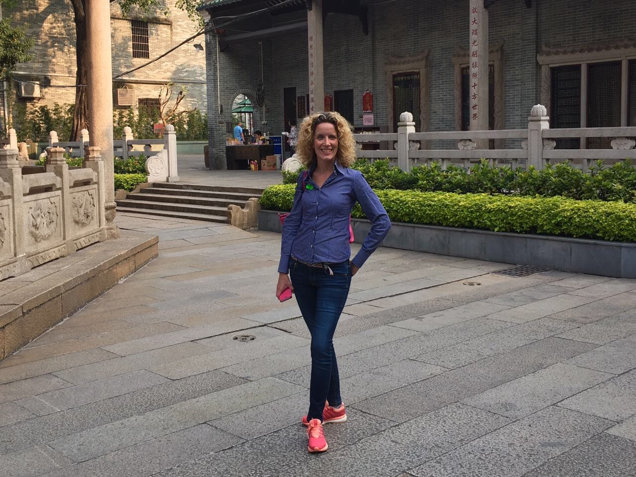 Annechien in China