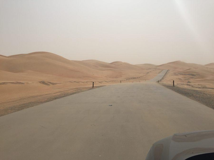 Zanderige wegen