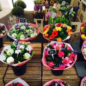 Bloemenkraam in Den Haag - Annechien Lubbers