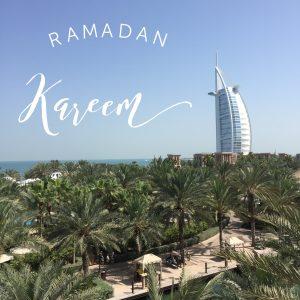 Ramadan kareem in Dubai